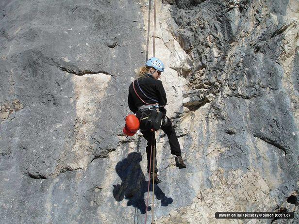 Kletterausrüstung Klettersteig : Klettern klettersteige chiemsee chiemgau kletterhallen berge