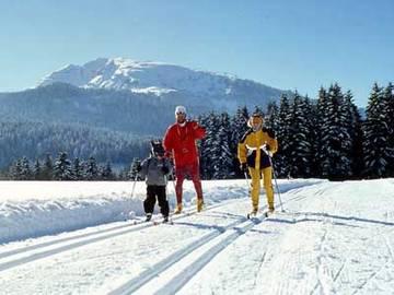 Langlauf bayern schneesicher